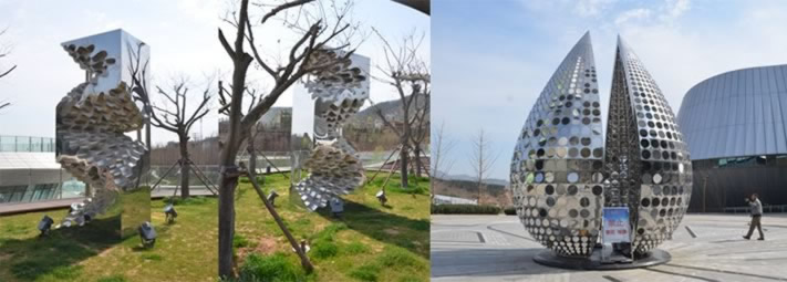 forged stainless steel parksculptures