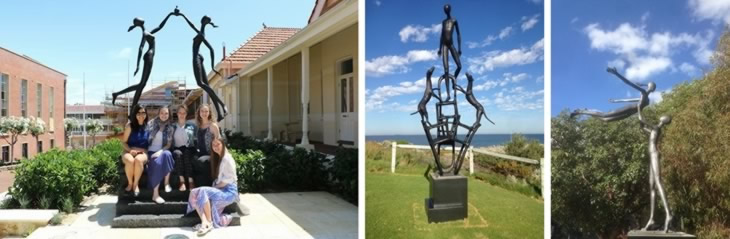 bronze sculptures australia