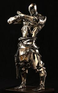 Stainless Steel Art ,casting Stainless Steel Artwork, Forged Stainless Steel Art Statue