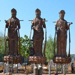 Forging Bronze Buddha Statue Sculpture