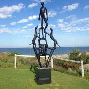 Bronze Casting Sculpture Located in Australia